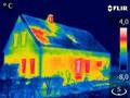 Energetische Sanierung, Bau Thermografie, Infrarot Thermografie